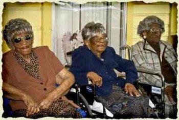 Самые пожилые сестры в мире