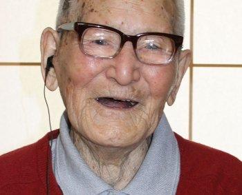 Самый пожилой мужчина на планете